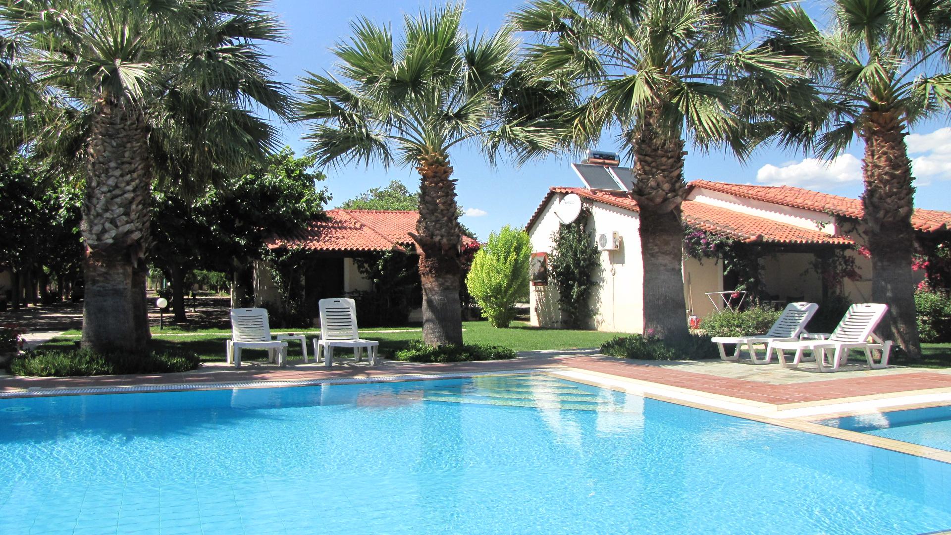 Ferienhäuser in Griechenland mit pool